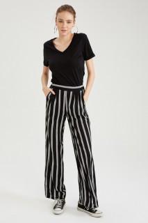Woman LT.BLACK Trousers-34