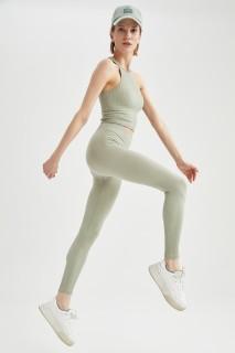 Woman LT.KHAKI Trousers-XS/S