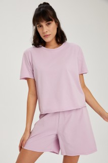 Woman LT.LILAC Knitted Tops-3XL