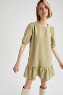 Woman LT.MINT Short Sleeve Woven Dress-44