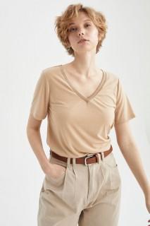 Woman LT.VISON Short Sleeve T-Shirt-XXL