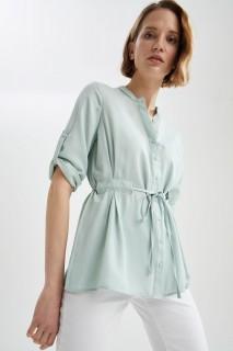 Woman MINT Long Sleeve Shirt-XXL