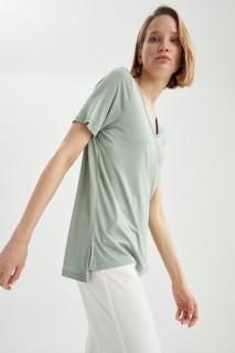 Woman MINT Short Sleeve T-Shirt-L