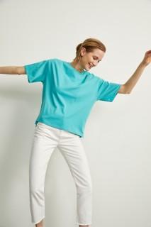 Woman MINT Short Sleeve T-Shirt-XXL