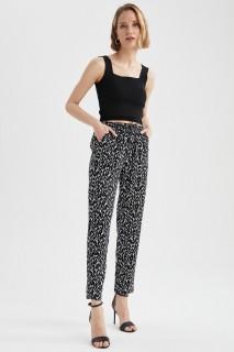 Woman SIYAH-100-13 Trousers-36