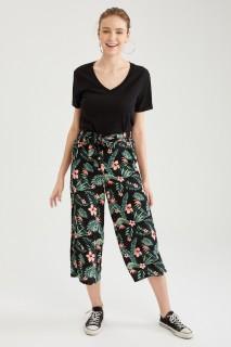 Woman SIYAH-100-13 Trousers-40
