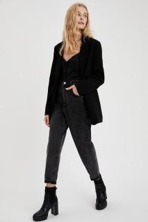 Woman Trousers BLACK- 28