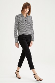 Woman Trousers BLACK- 46
