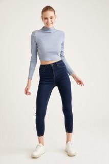 Woman Trousers D.BLUE- 24