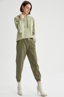 Woman Trousers GREEN- 38