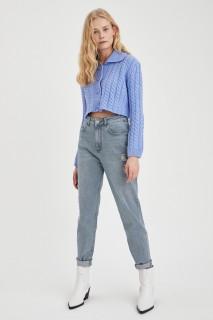 Woman Trousers GREY- 24