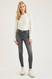 Woman Trousers GREY- 32