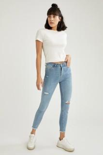 Woman Trousers LT.BLUE- 24