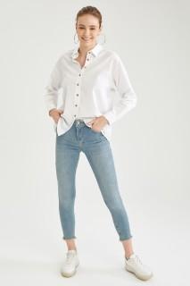 Woman Trousers LT.BLUE- 28