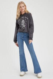 Woman Trousers LT.BLUE- 30