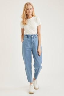 Woman Trousers LT.BLUE- 34