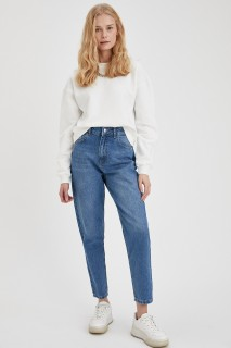 Woman Trousers MID BLUE- 24