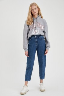 Woman Trousers MID BLUE- 26