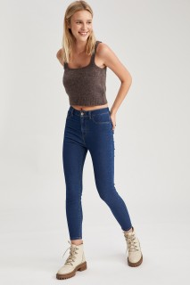 Woman Trousers MID BLUE- 27