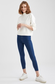 Woman Trousers MID BLUE- 29
