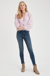 Woman Trousers MID BLUE- 34