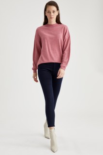 Woman Trousers NAVY- 40