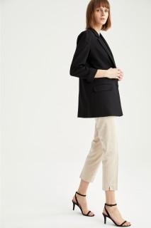 Woman Trousers STONE- 36