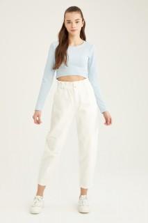 Woman Trousers WHITE(000)- 32