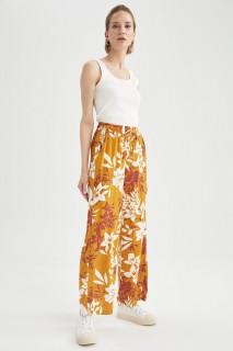 Woman YELLOW Trousers-36