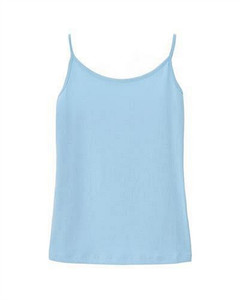 Women Solid Cotton Tank Top M