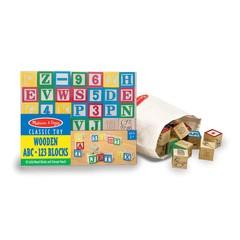 Wooden ABC/123 Blocks (UC)