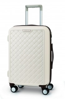 """Rattan Carrier 20"""" Ivory"""