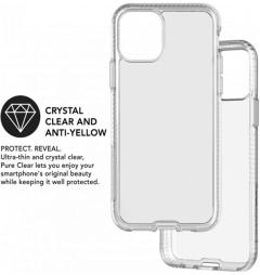 IPhone Pro 11 case, transparent plastic frame