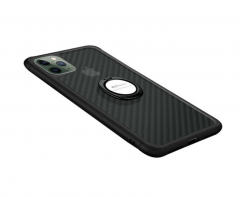 IPhone cover with black frame and handle