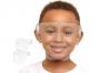 Face shield - Kids - Clear