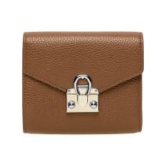 Dark Toffee Leather Mina  Ladies Wallet 120 x 100 x 25