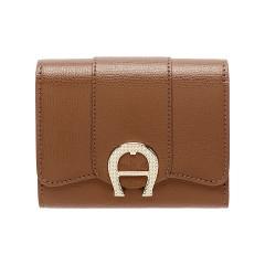 Cognac Leather Verona  Ladies Wallet 120 x 100 x 25