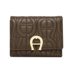 Country Green Leather Genoveva Ladies Wallet 120 x 95 x 25