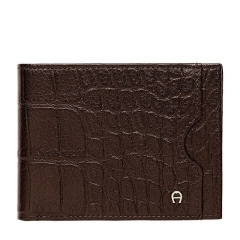 Java Brown Leather Luca Gent Wallet 90 x 117 x 10