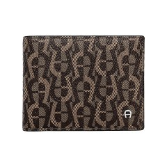 Fango Leather Logo Gent Wallet 100 x 85 x 10