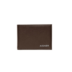 Java Brown Leather Saffiano Gent Wallet 75 x 110 x 10
