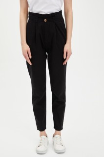 Defacto Women Woven Black BK27 Trouser -36