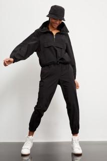 Defacto Women Woven Black BK27 Trouser -34