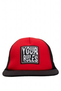 Lettering Printed Hat