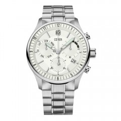 Cover Portos Gent Chronograph Stainless Steel Mens Watch