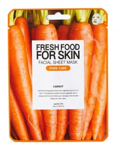 Fresh Food For Skin Facial Sheet Mask Carrot