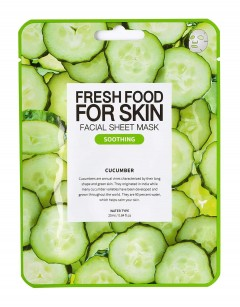 Fresh Food For Skin Facial Sheet Mask Cucumber