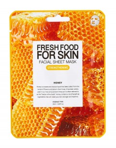 Fresh Food For Skin Facial Sheet Mask Honey