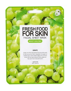 Fresh Food For Skin Facial Sheet Mask Grape