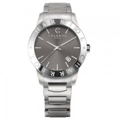 Charriol Mens Stainless Steel Bracelet Watch AC40S.930.002